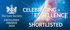 Excellence awards 2018 shortlisted